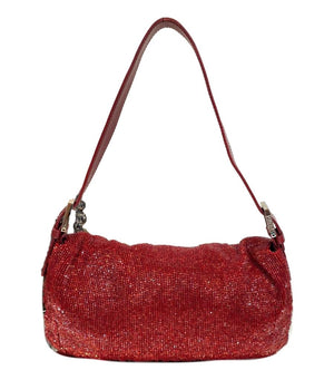 Fendi Fully Beaded Baguette Bag