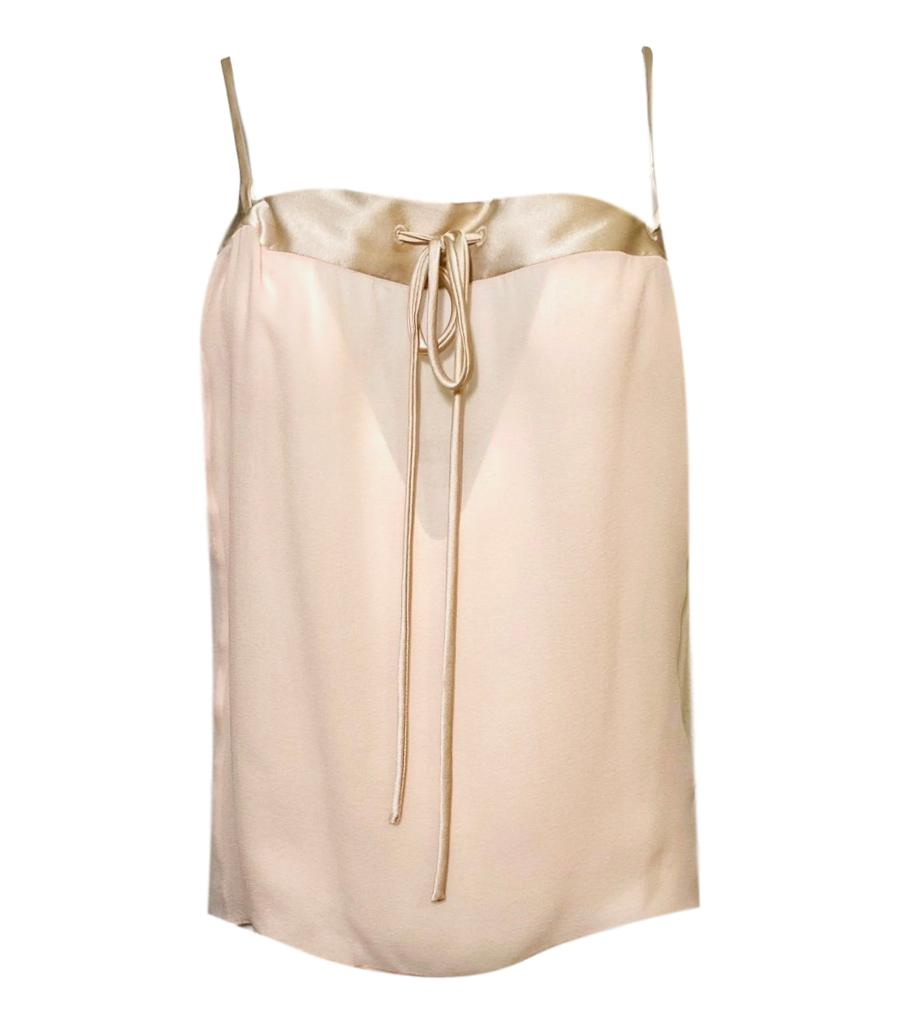 Tom Ford Silk Cami Top. Size 38IT