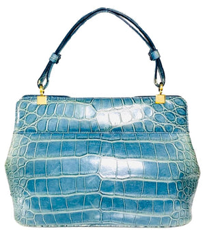 Bulgari Alligator Isabella Rossellini Bag