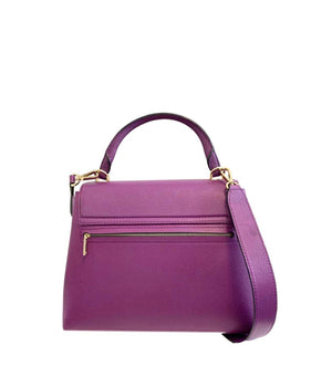 Carolina Herrera Leather Baret Bag