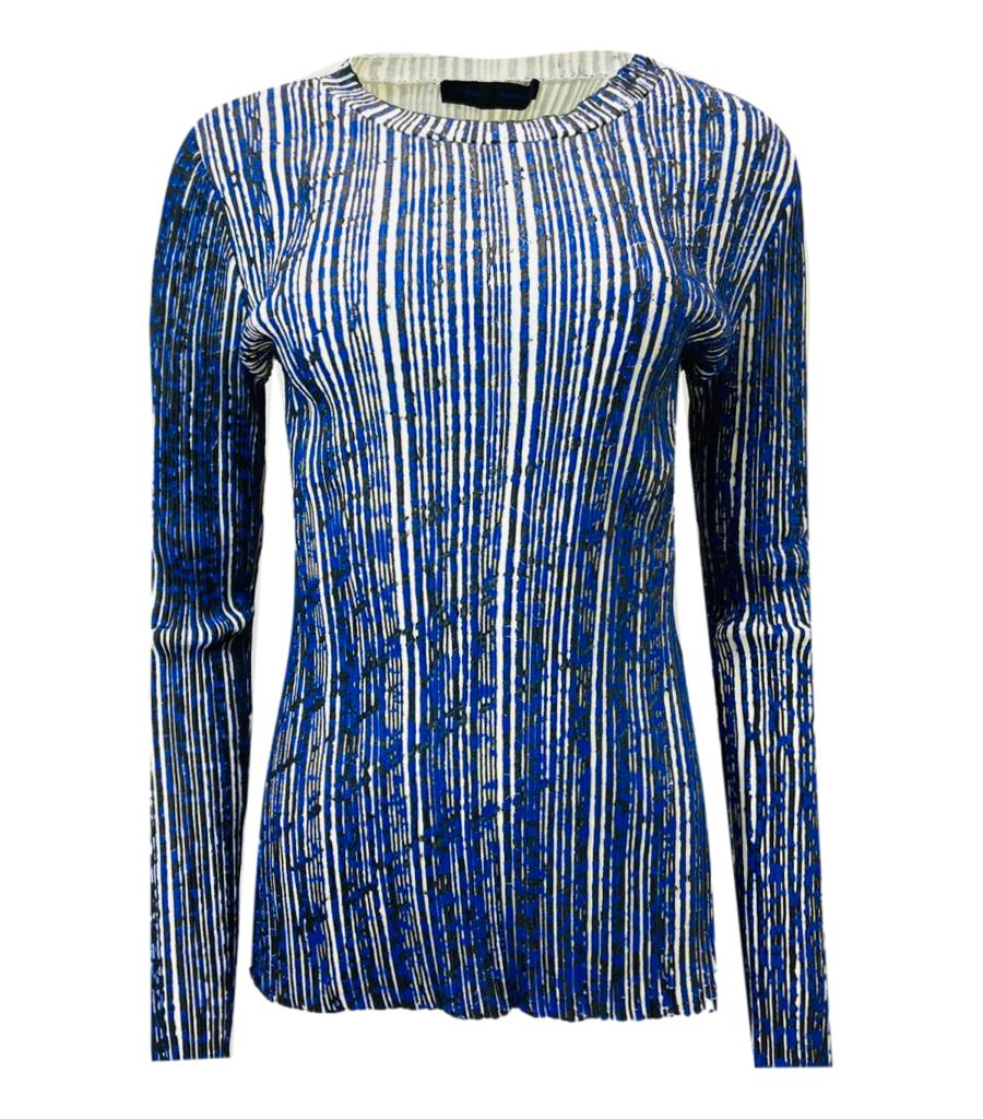 Proenza Schouler Stripped Top. Size S