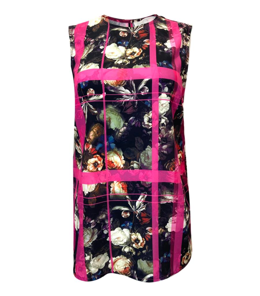 Thakoon Addition Floral Tunic Top. Size 8UK