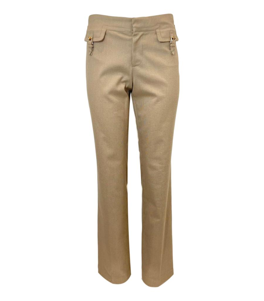 Gucci Cotton Trousers. Size 42IT