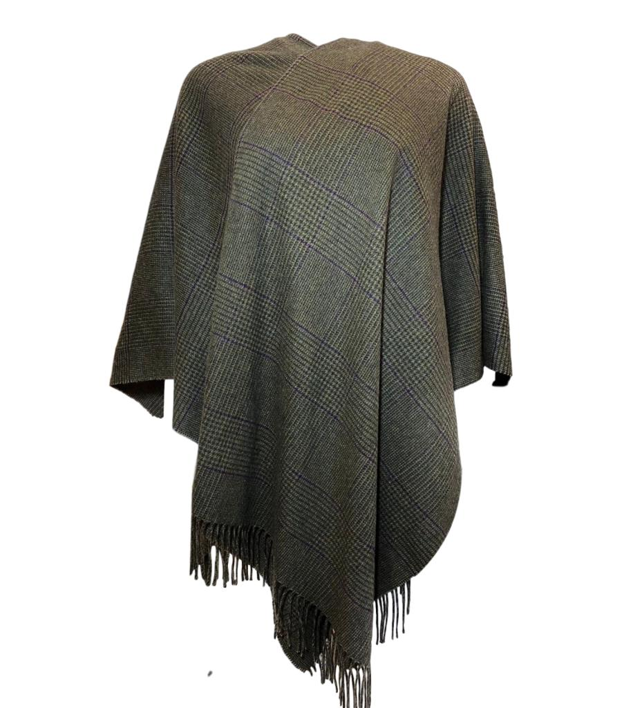 Ralph Lauren Collection Cashmere Fringed Cape
