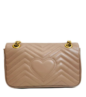 Gucci Marmont Leather Love Bag