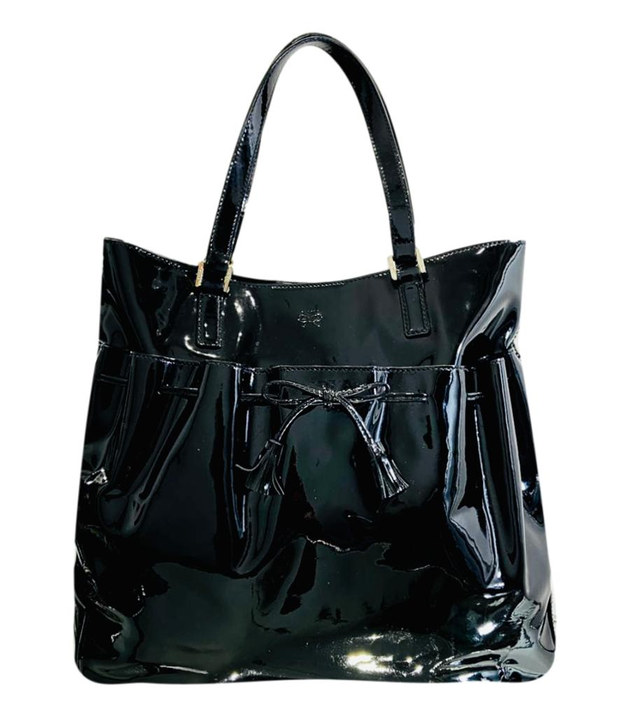 Anya Hindmarch Patent Leather Shopper Bag & Purse