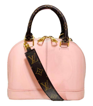 Louis Vuitton Alma Bag With Monogram Strap & Trim
