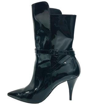 Saint Laurent Patent leather Boots. Size 39