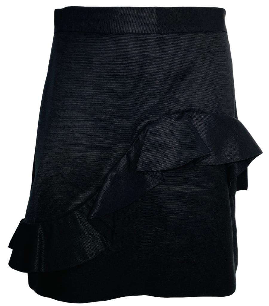 MSGM Frill Cotton Skirt. Size 44IT