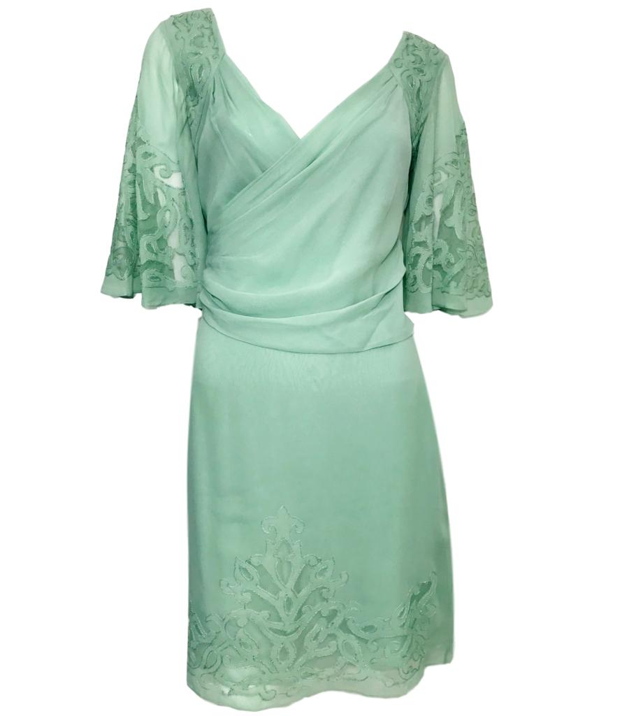 Temperley London Silk Dress. Size 10UK
