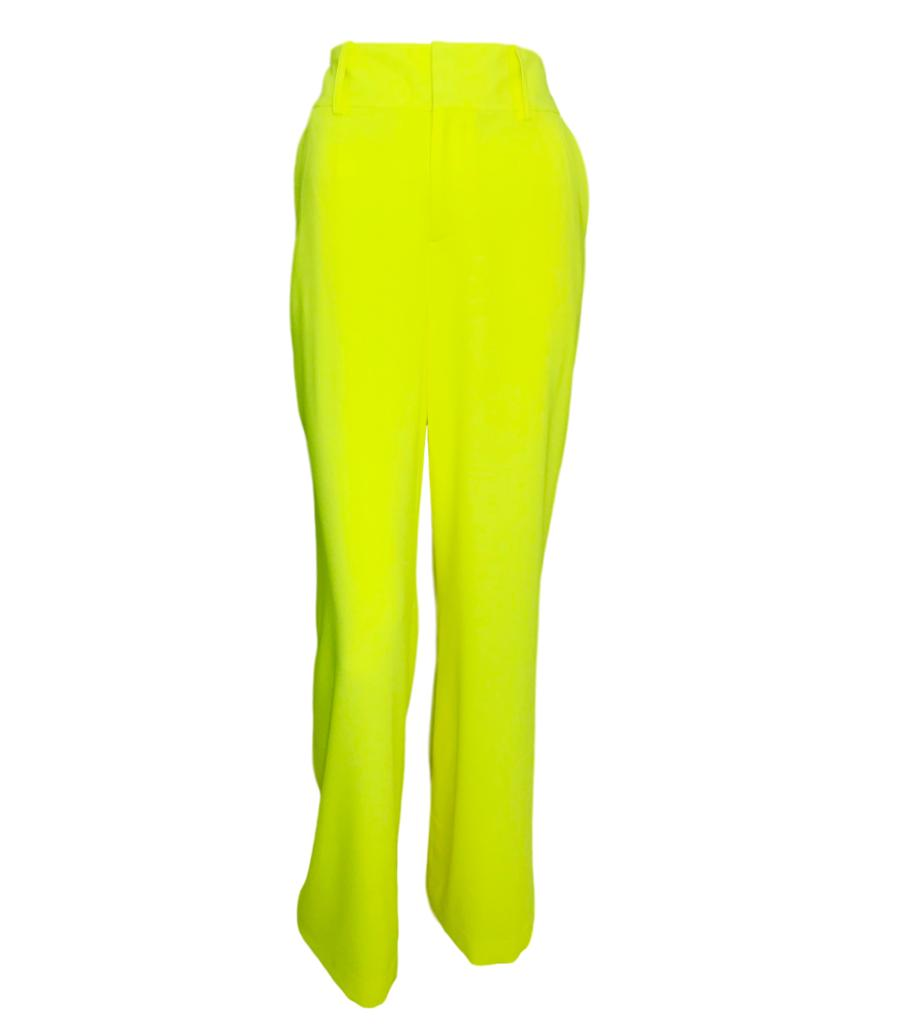 Alice And Olivia Yellow Trousers. Size 8 US