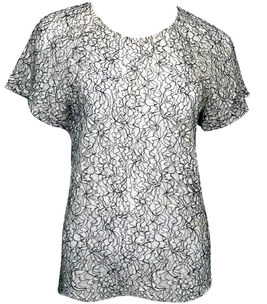 Erdem Lace Top. Size 10UK
