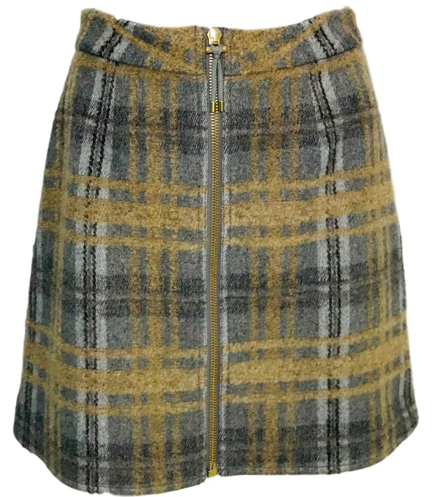 Acne Studios Prisca Tweed Skirt. Size 38FR
