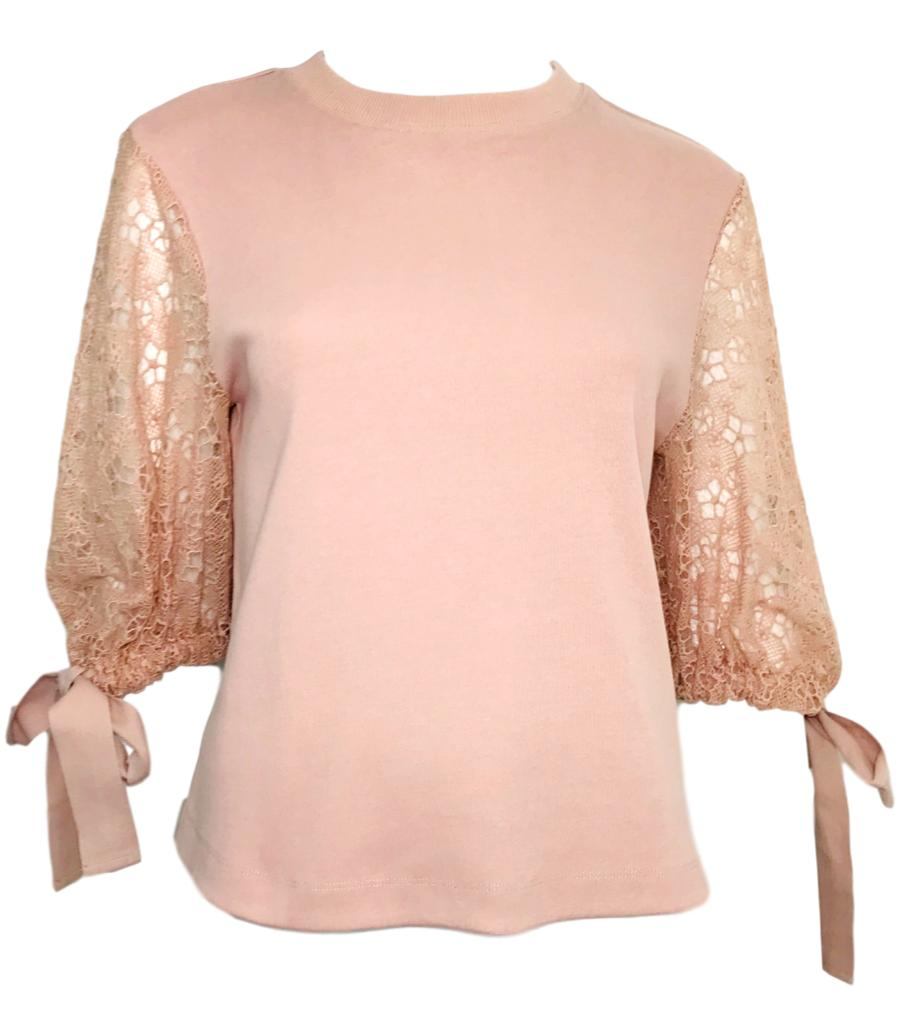See By Chloe Lace Top. Size S