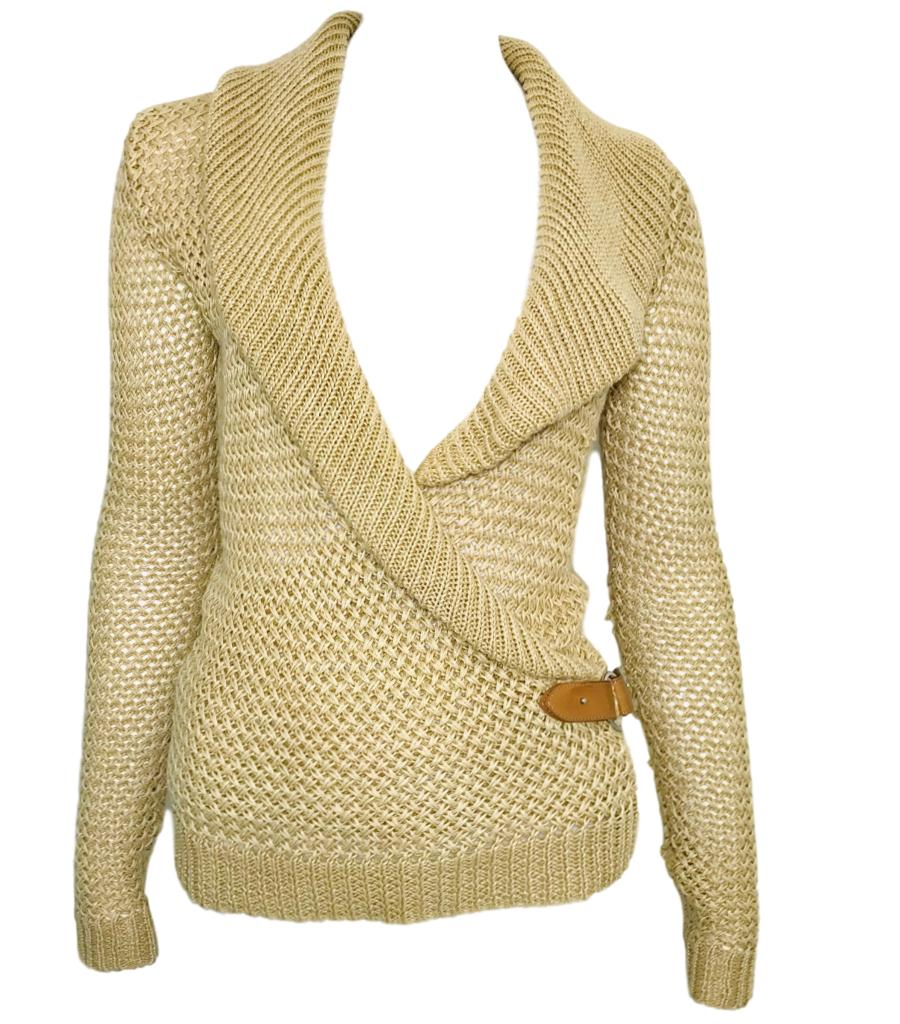 Ralph Laurent Knitted Jumper. Size XS