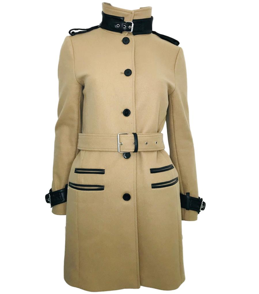 The Kooples Wool Blend Coat. Size 38FR