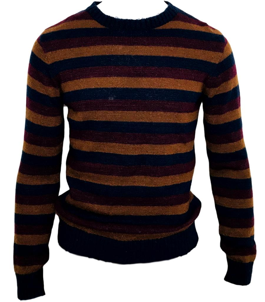 Oliver Spencer Striped Jumper. Size S
