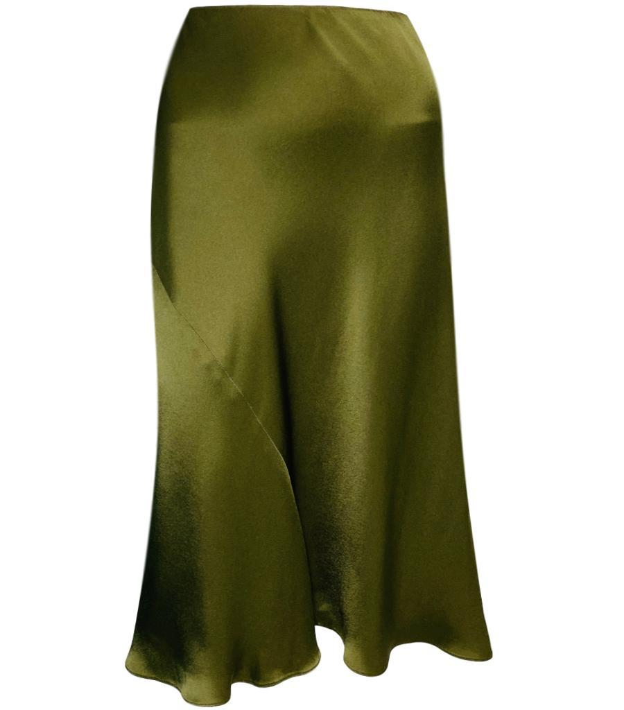 Ralph Lauren Satin Skirt. Size 10US