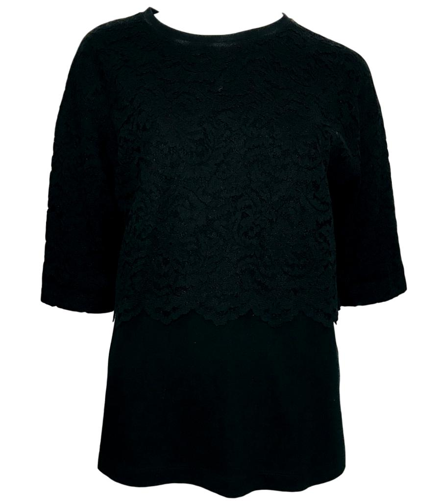 No. 21 Cotton Lace Top. Size 42FR
