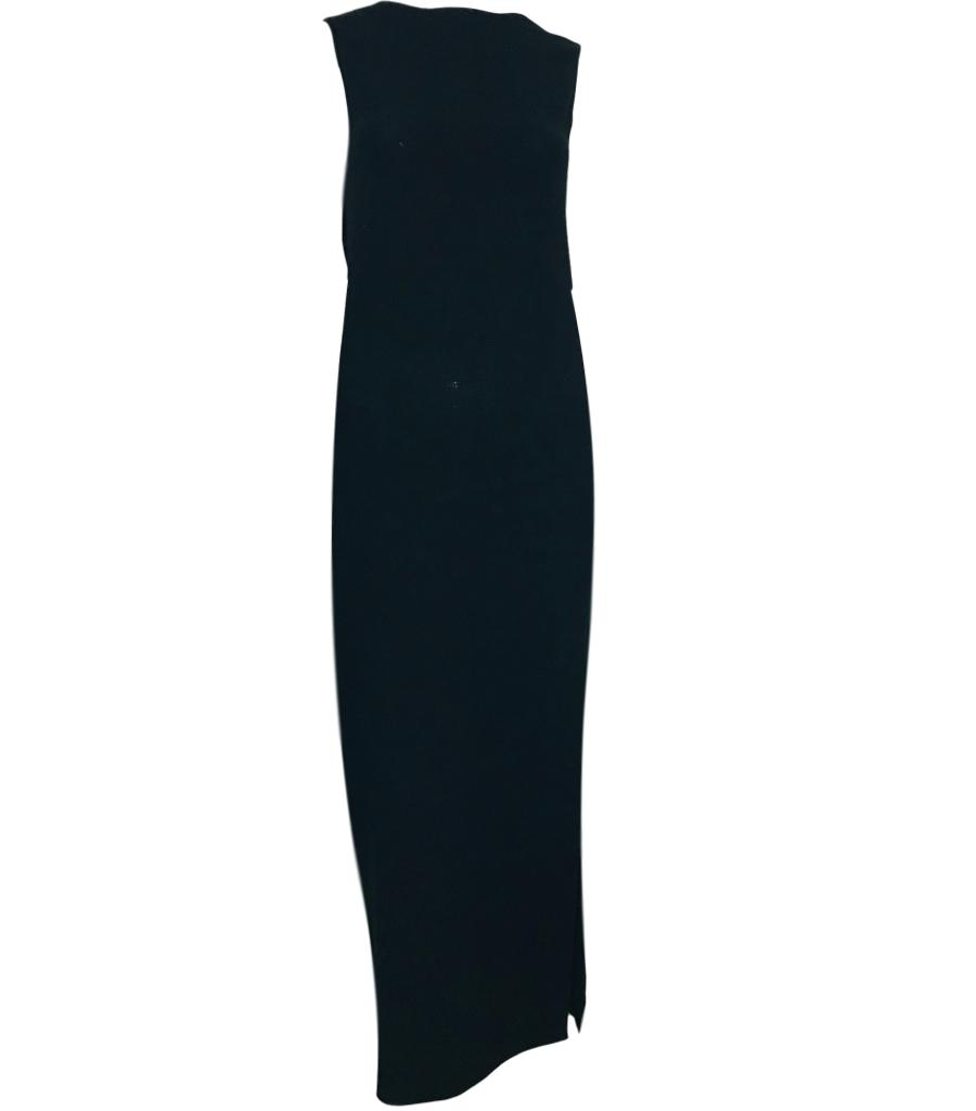 Calvin Klein Virgin Wool Maxi Dress. Size 38FR