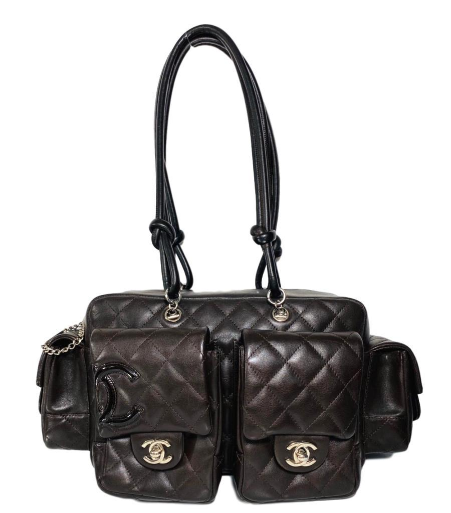 Chanel Leather Cambon Reporter Bag