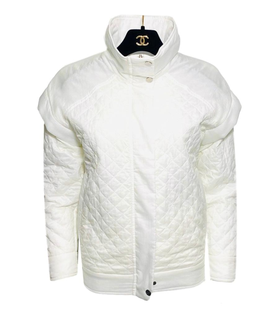Chanel Quilted Jacket A/W Collection. Size 36FR