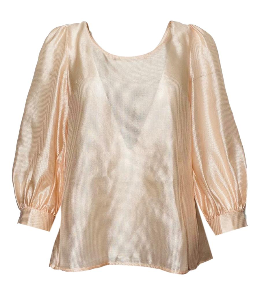 Escada Silk Top. Size 36FR