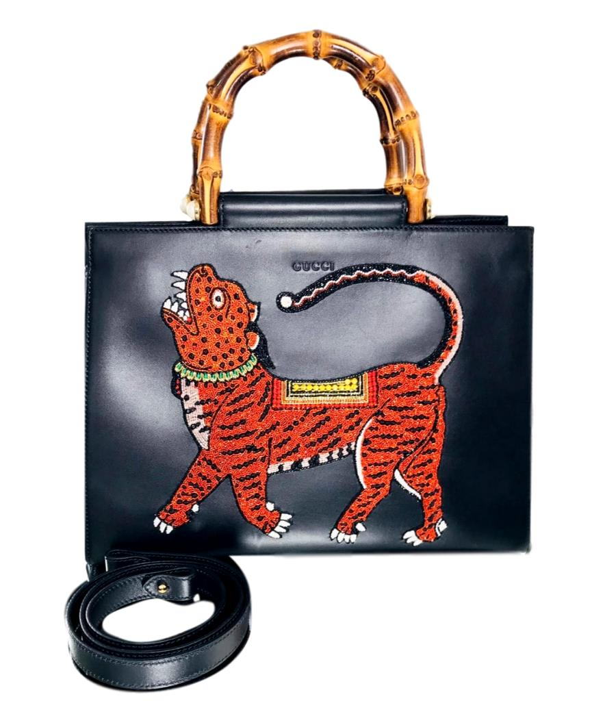 Gucci Ltd Edition Beaded Tiger Bag