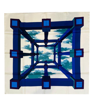 Hermes Silk Scarf 'Perspective'