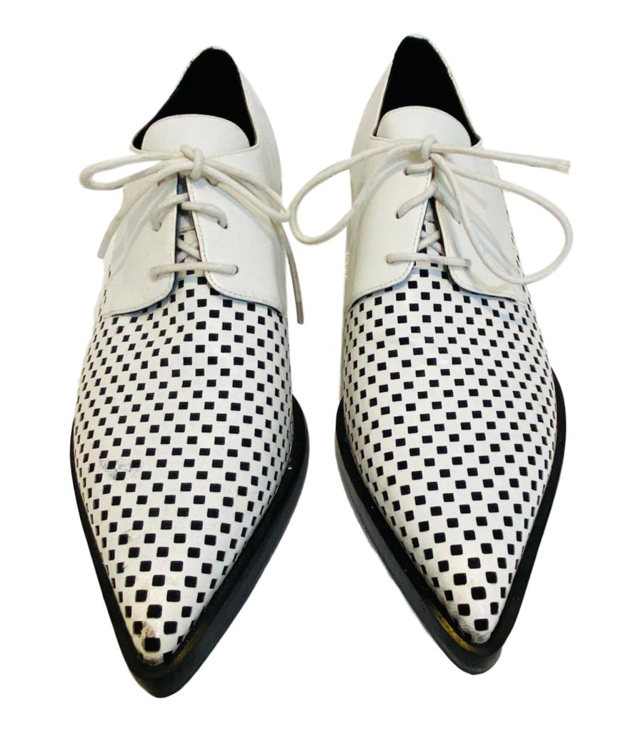 Stella McCartney Lace Up Oxfords. Size 40