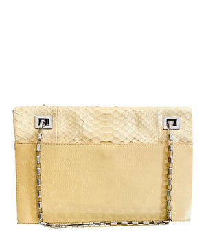 Michael Kors Runway Collection Python Skin & Leather Bag