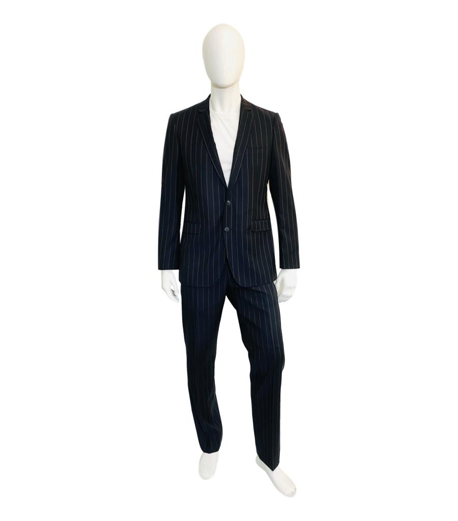 Dolce & Gabbana Virgin Wool Suit. Size 50/52IT