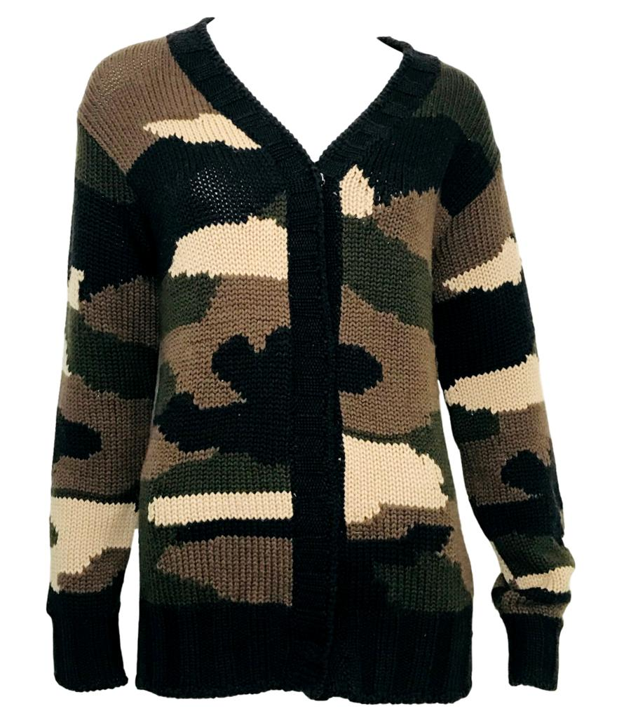 P.A.R.O.S.H Camouflage Cardigan. Size S