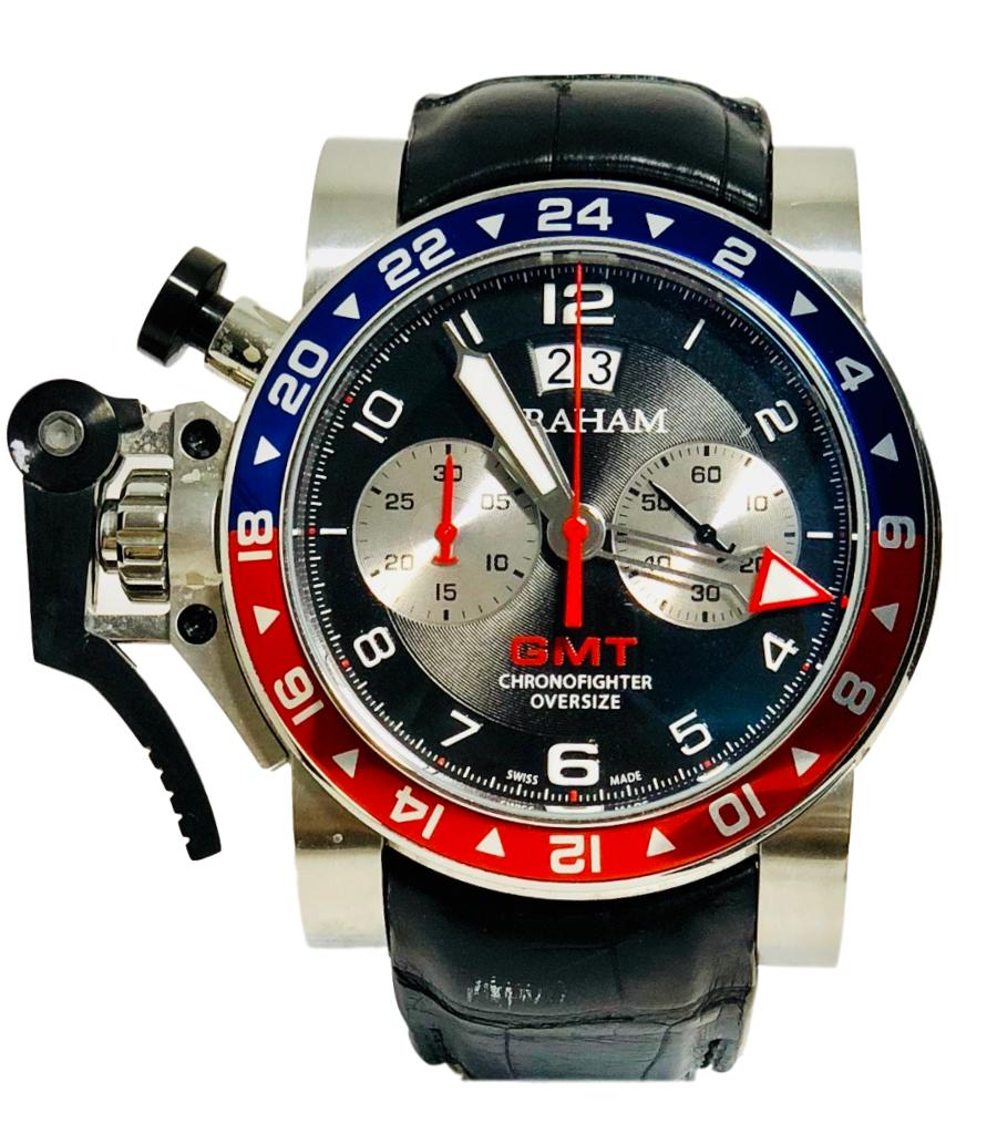 Graham Chronofighter Oversize GMT