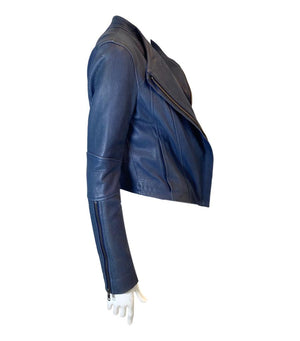 Helmut Lang Lambskin Leather Jacket. Size M