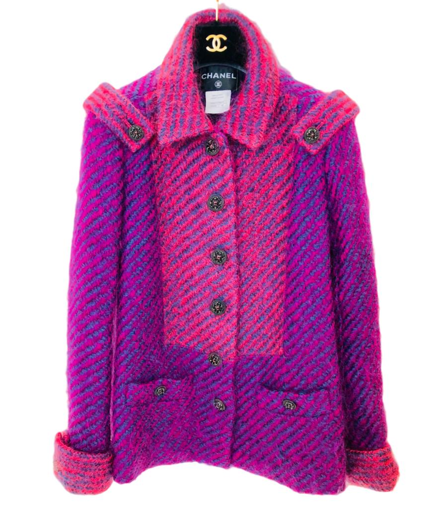 Chanel Paris Dallas Mohair Jacket. Size 40FR