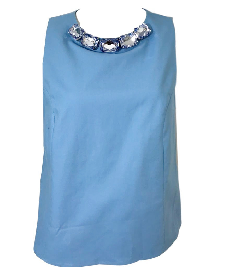 Moschino Cheap and Chic Sleeveless Top. Size 12UK