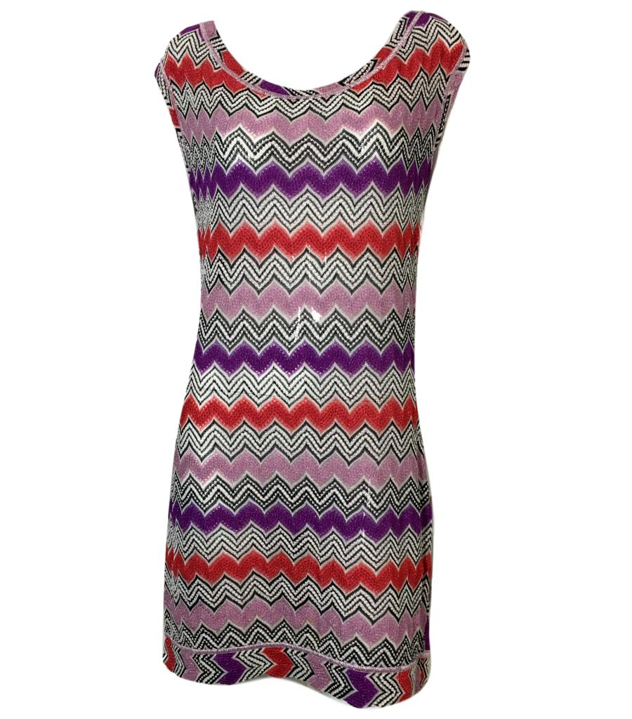 Missoni Mare ZigZag Dress. Size 44IT