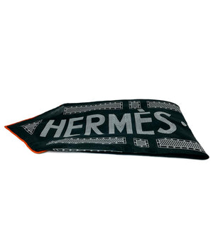 "Hermes ""Sellier""  Neckerchief"