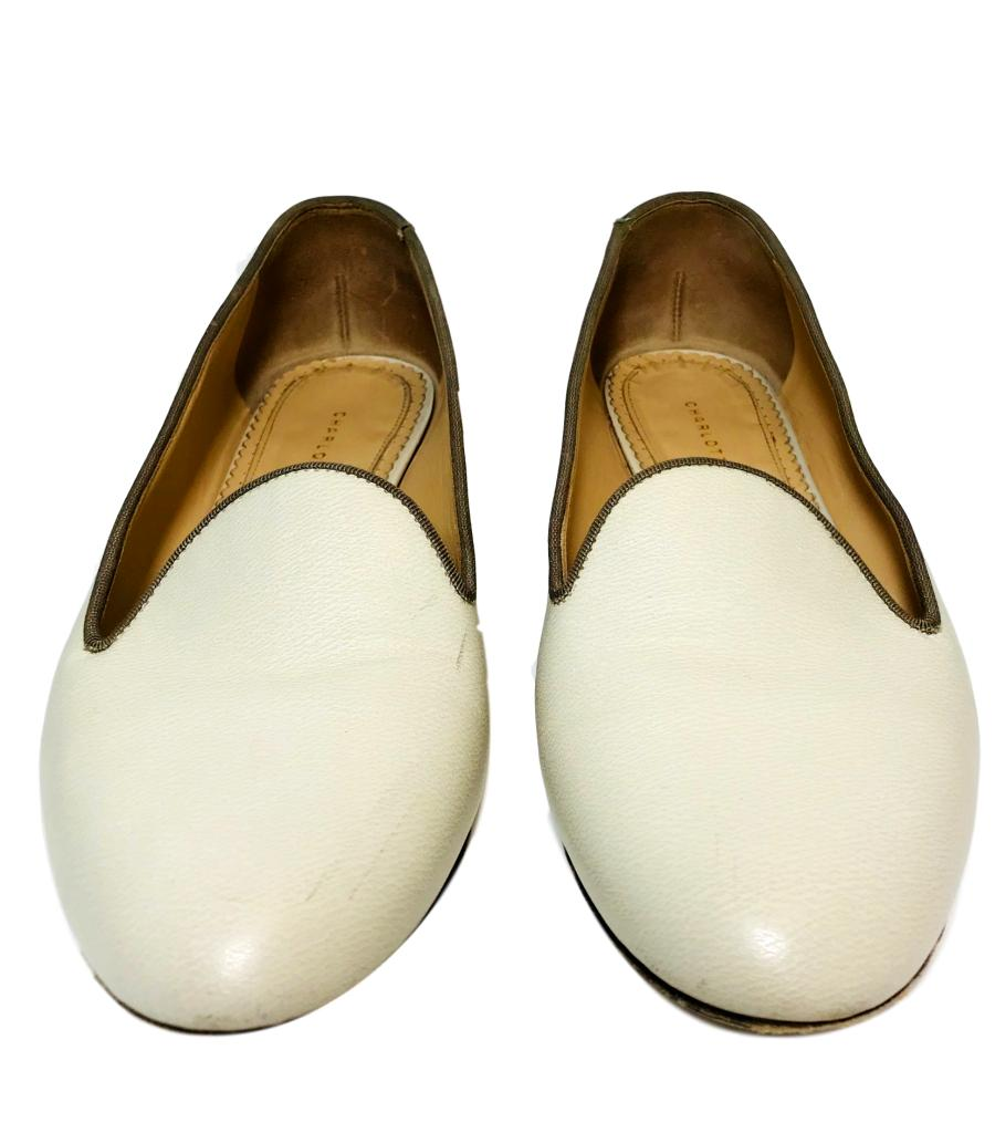 Charlotte Olympia Leather Flats. Size 38