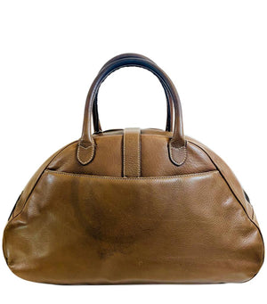 Christian Dior Saddle Bowling Handbag