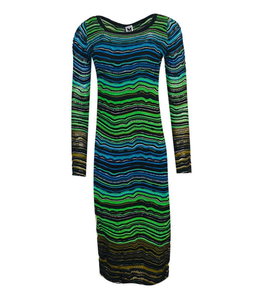 M Missoni Mid- Length Dress. Size 40 IT