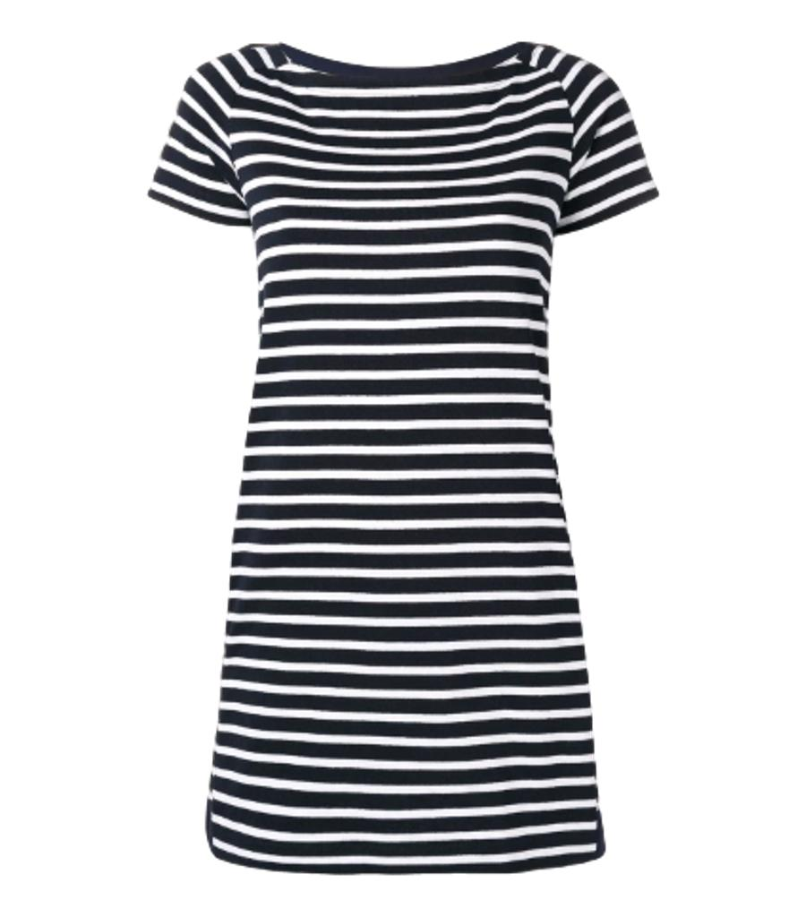 Sacai Striped Shift Dress. Size 4