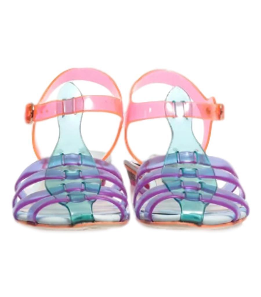 Sophia Webster's Violetta Jelly sandals. Size 38