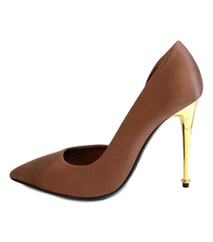 Tom Ford D'Orsay Satin Heels. Size 36