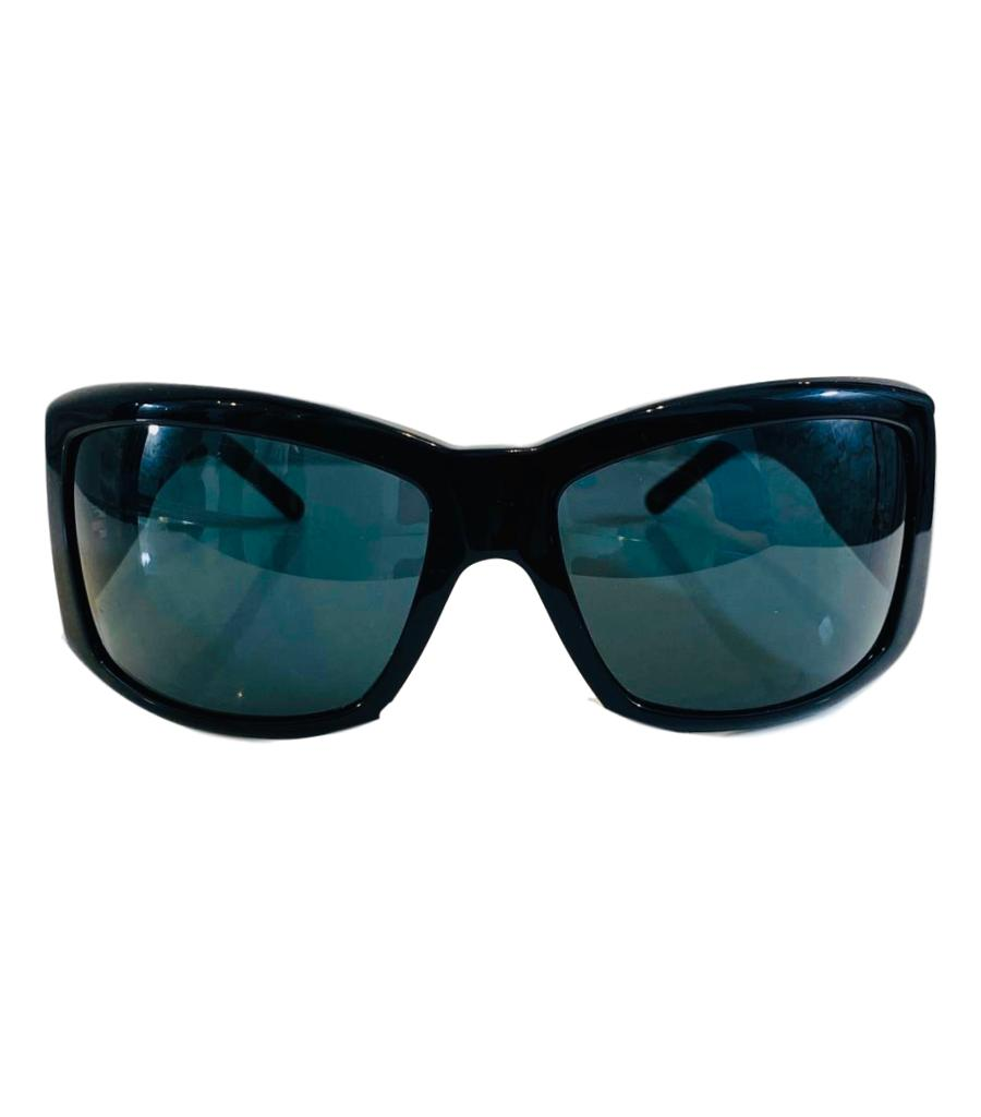 Versace Crystal Sunglasses