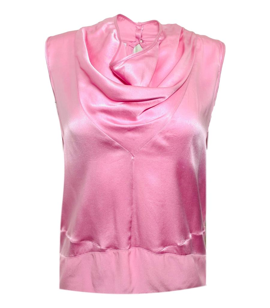 Victor & Rolf Satin Top. Size 40IT