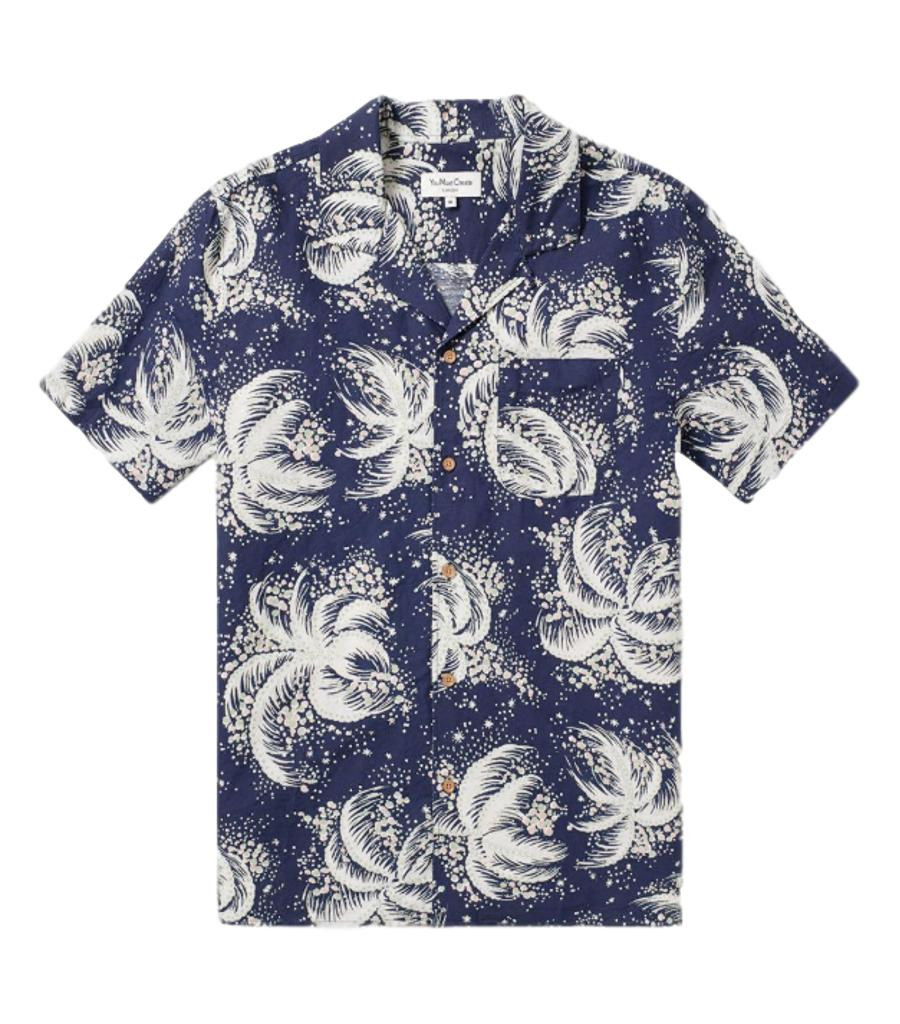 YMC Palm Tree Shirt. Size S