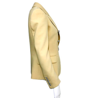 Balmain Wool Blazer. Size 38IT