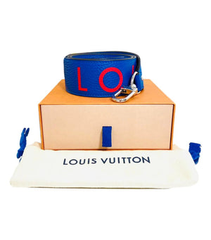 Louis Vuitton Leather Taurillon Bandouliere Shoulder Strap